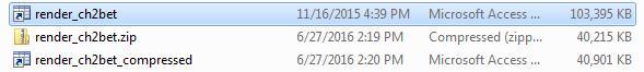 Compressed MAT file
